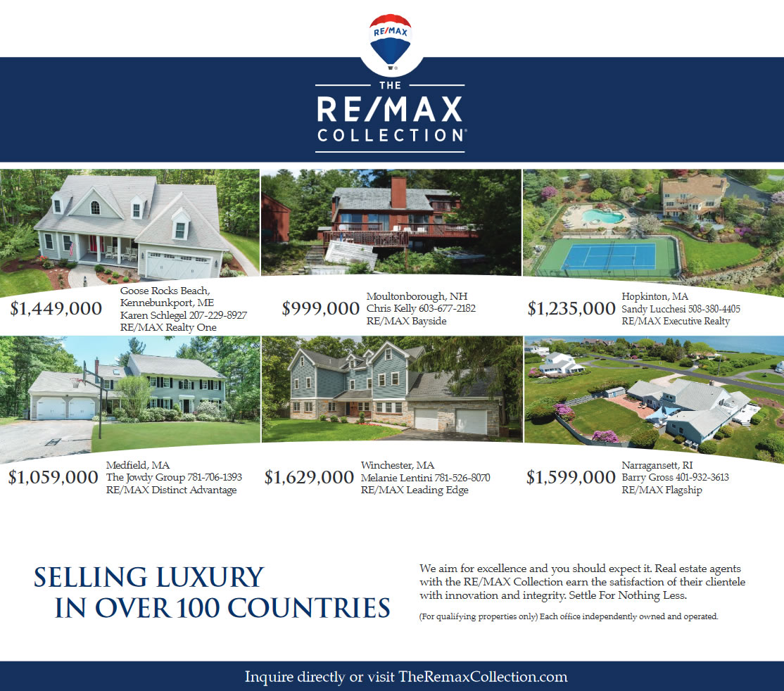The RE/MAX Collection - Boston Sunday Globe Advertisement