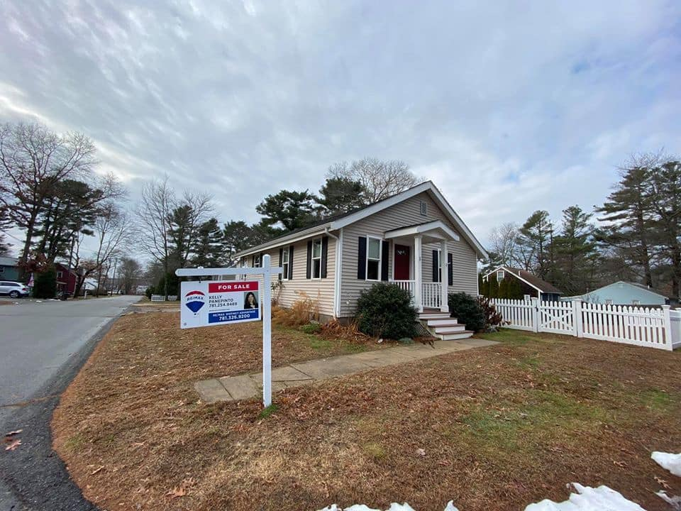 Front exterior image of home sold in Norton, ma